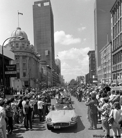 Winnipeg Jets had three victory parades during the 1970s.