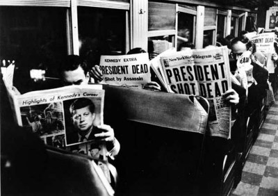 At least one sports writer believes Donald Trump winning the U.S. presidential election is sadder than the day President John F. Kennedy was assassinated.